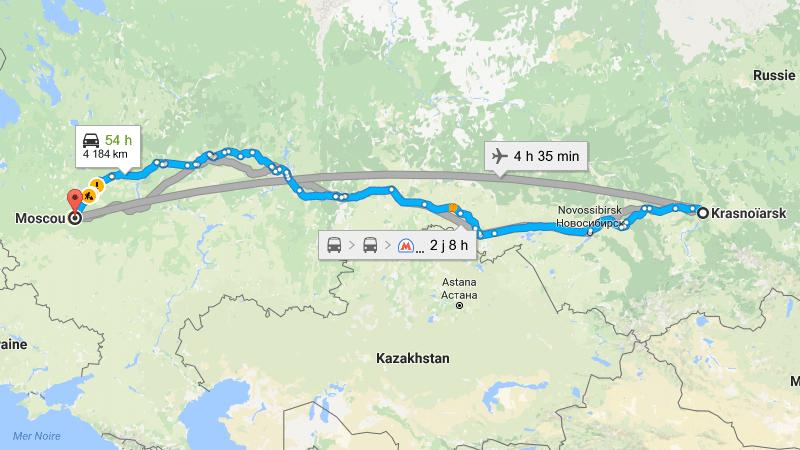 разница во времени между Красноярском и Москвой