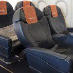 Схема салона Аэробус А319: бизнес-класс
