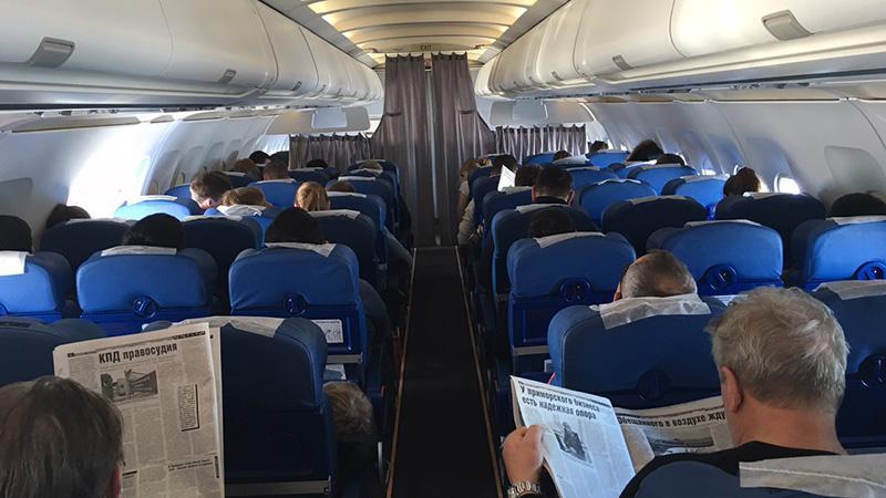 """Выбор места в самолете Аэробус А319 """"Аэрофлот"""""""