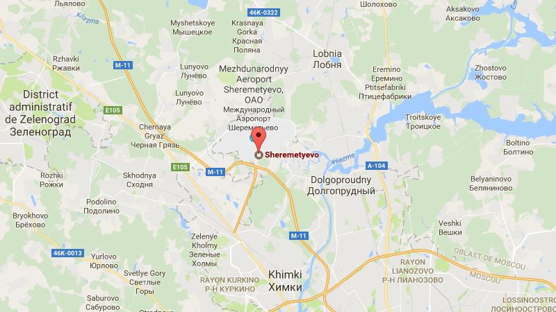 аэропорт Шереметьево схема расположения терминалов