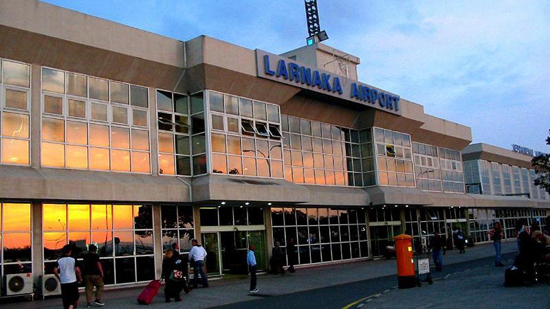 Екатеринбург-Кипр: аэропорт Ларнака