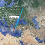 Время перелета Москва-Родос