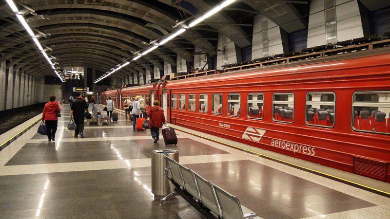 как доехать до аэропорта Внуково на общественном транспорте из Москвы