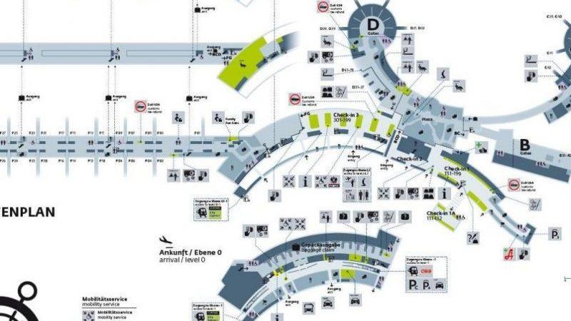 как добраться из аэропорта Вены до центра Вены