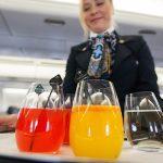 Питание в самолете эконом класса ночью и днем