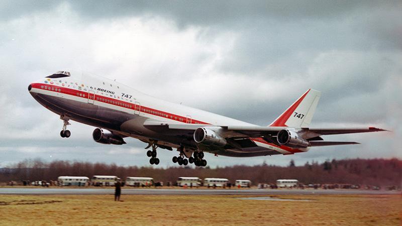 Боинг 747: первый полет самолета