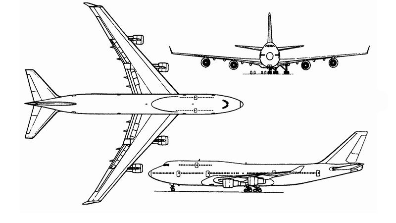 Технические характеристики Боинг 747
