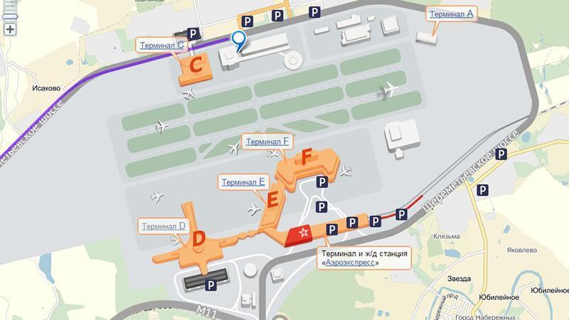 Шереметьево: нюансы проезда в аэропорт с Киевского вокзала