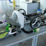 Детская коляска на борту: как перевозить