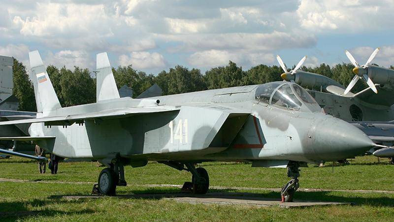 Лучший российский самолет с вертикальным взлетом