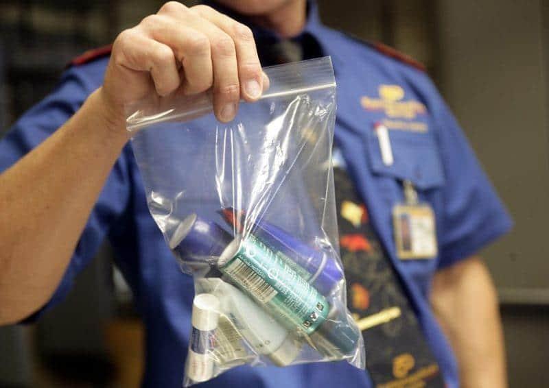 можно ли брать в самолет дезодорант спрей провозить в багаже