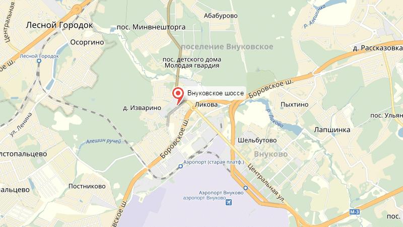 паркинг аэропорта Внуково