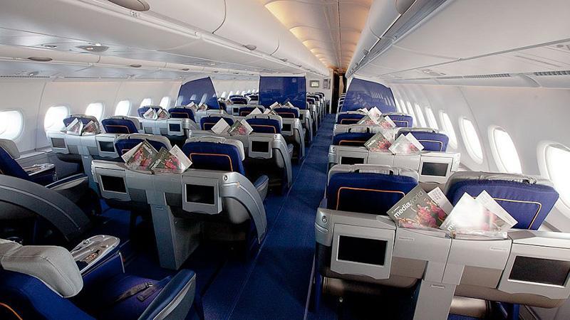 Пассажирские перевозки: самый большой самолет мира