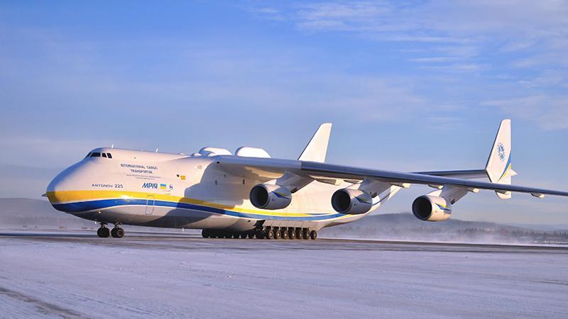 Самый грузоподъемный самолет в мире