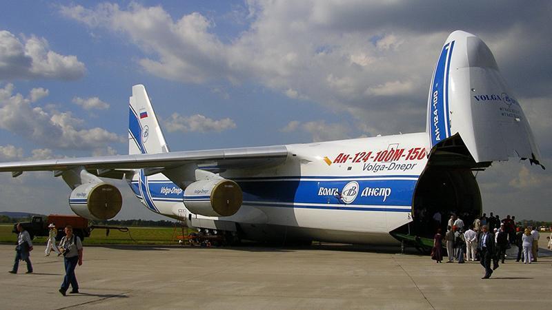 """Ан-124 """"Руслан"""": особенности конструкции самого большого самолета России"""