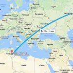 Сколько часов длится полет Самара-Тунис