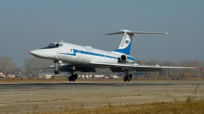 Вес самолета Ту-134