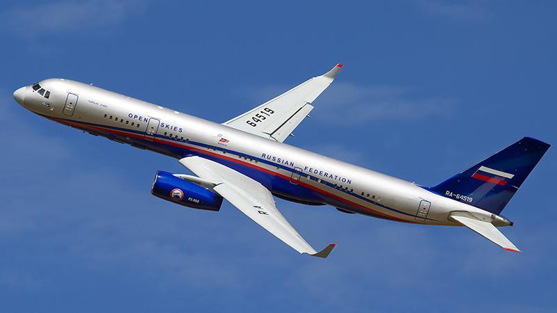 Вес пассажирского самолета Ту-214