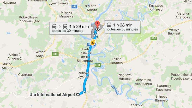 сколько лететь из Москвы до Уфы