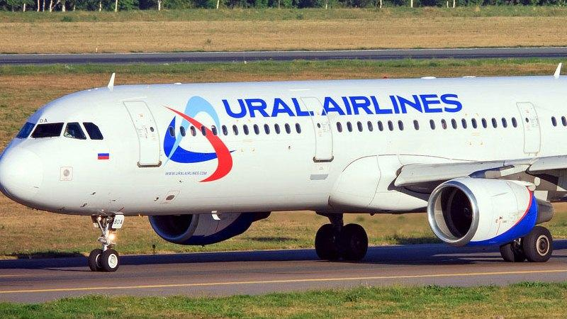 airbus industrie a321 «Уральские авиалинии» схема салона