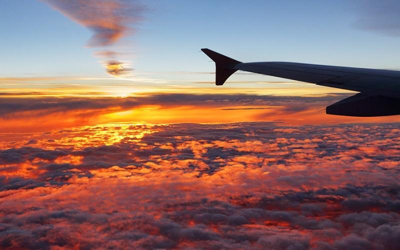 вид из кабины пилота самолета видео