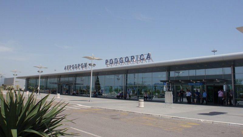 в каком городе аэропорт в Черногории