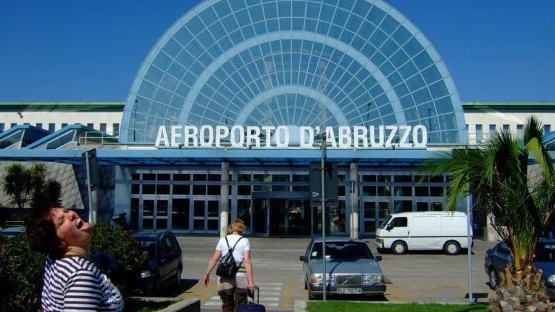 карта Италии с аэропортами на русском языке2