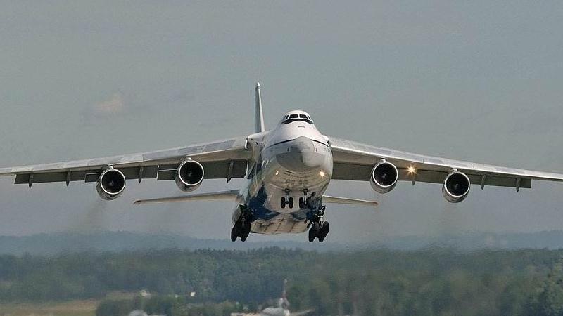 сколько весит самолет Руслан вес