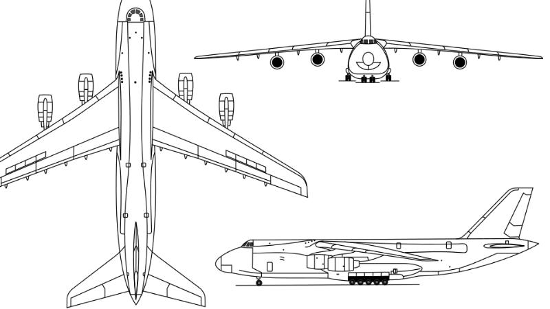 технические характеристики самолета Ан-124 Руслан