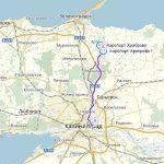 Как добраться из аэропорта Храброво в Калининград: схема