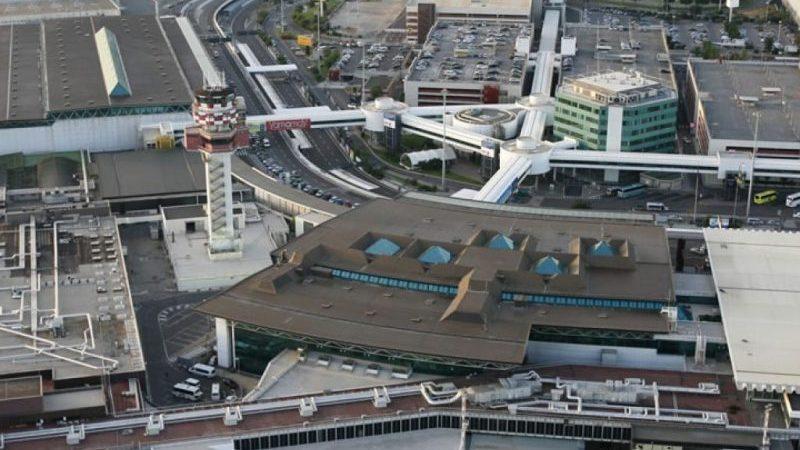 аэропорт Фьюмичино как перейти из терминала 1 в терминал 3