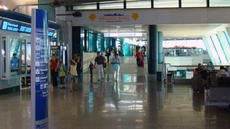аэропорт Фьюмичино в Риме схема терминалов
