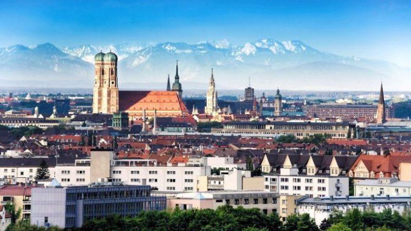 время полета Мюнхен Москва
