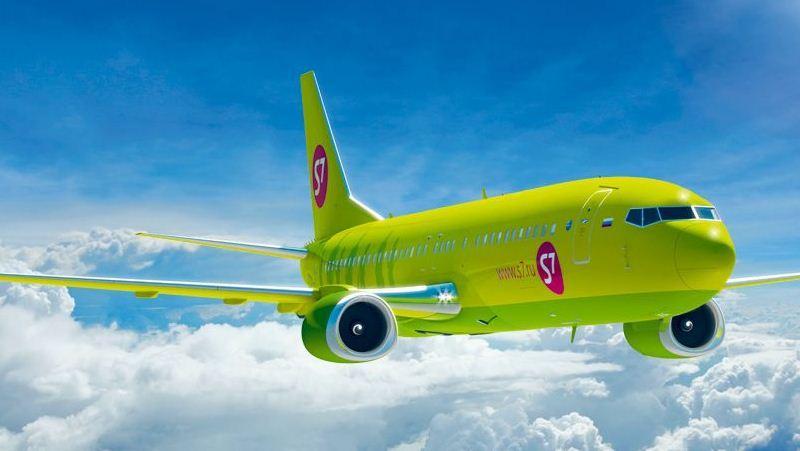 авиакомпания S7 Airlines Сибирь