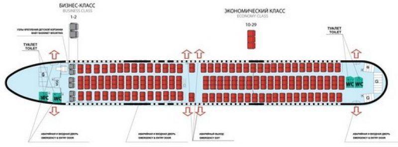 фото салона Боинг 737-300