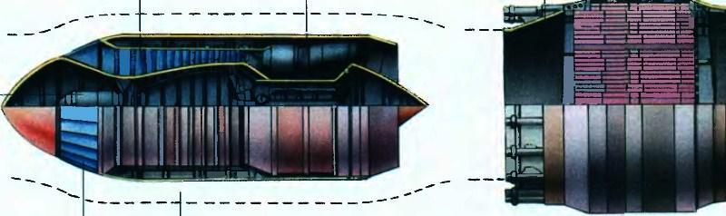 самолет с атомным двигателем
