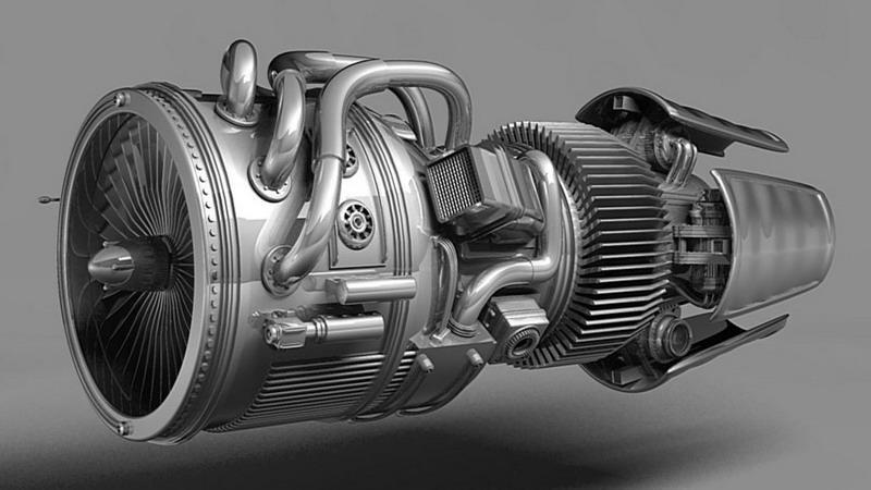 принцип работы двигателя реактивного самолета