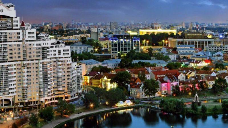 перелет Минск Москва