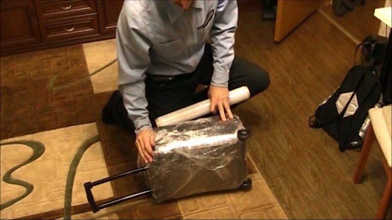 как упаковать сумку в самолет