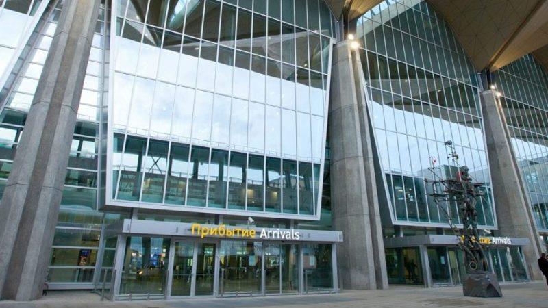 схема аэропорта Пулково