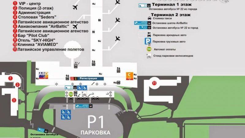 как добраться из аэропорта Риги до центра города