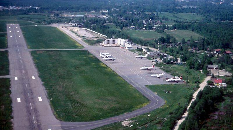 список аэропортов Санкт-Петербурга