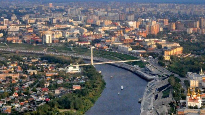 расстояние от Тюмени до Москвы