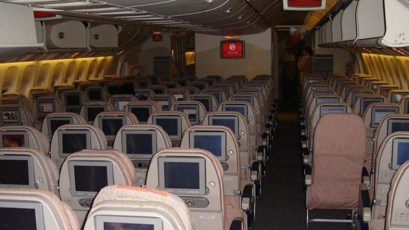 Boeing 777-300ER места в самолете Эмирейтс