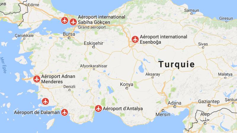 Турция аэропорт Денизли