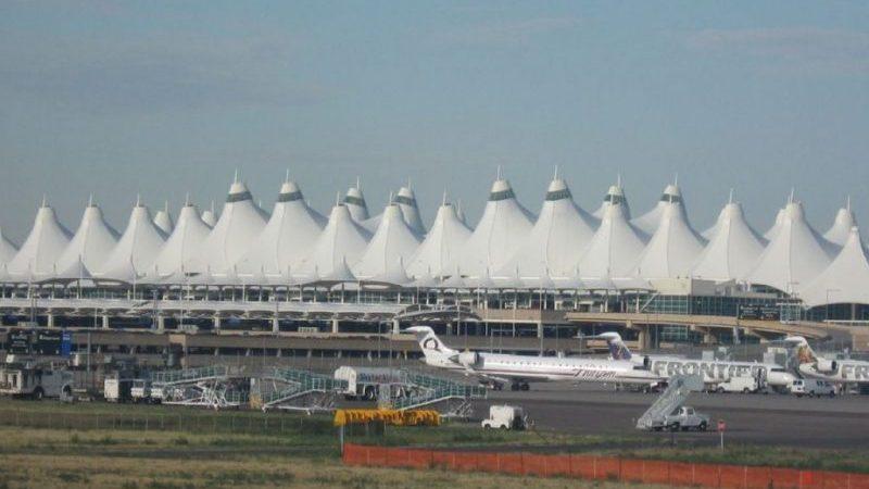 международные аэропорты США на карте
