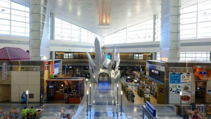 количество аэропортов в США