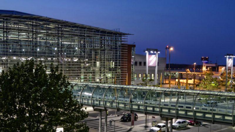 самый большой аэропорт в германии2