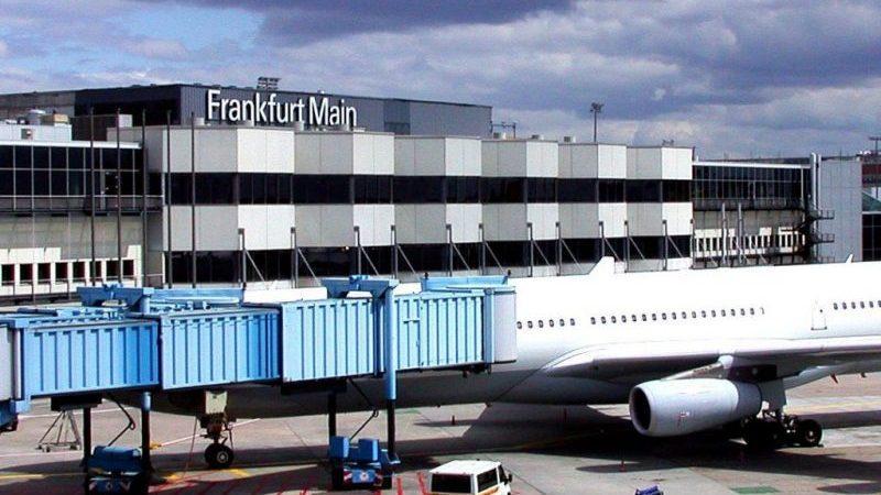 самый большой аэропорт в германии
