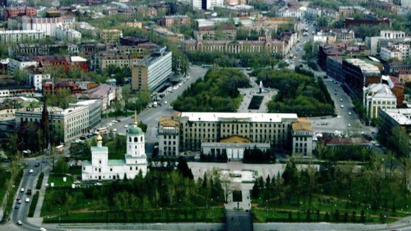 расстояние от Москвы до Байкала
